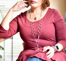 Lanyard Jewelry {living outside the stacks}