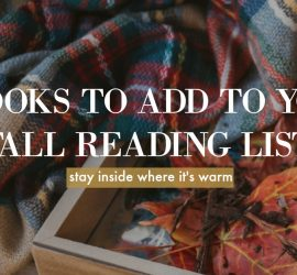 5 Books to Add to Your Fall Reading List {living outside the stacks} image courtesy of picmonkey