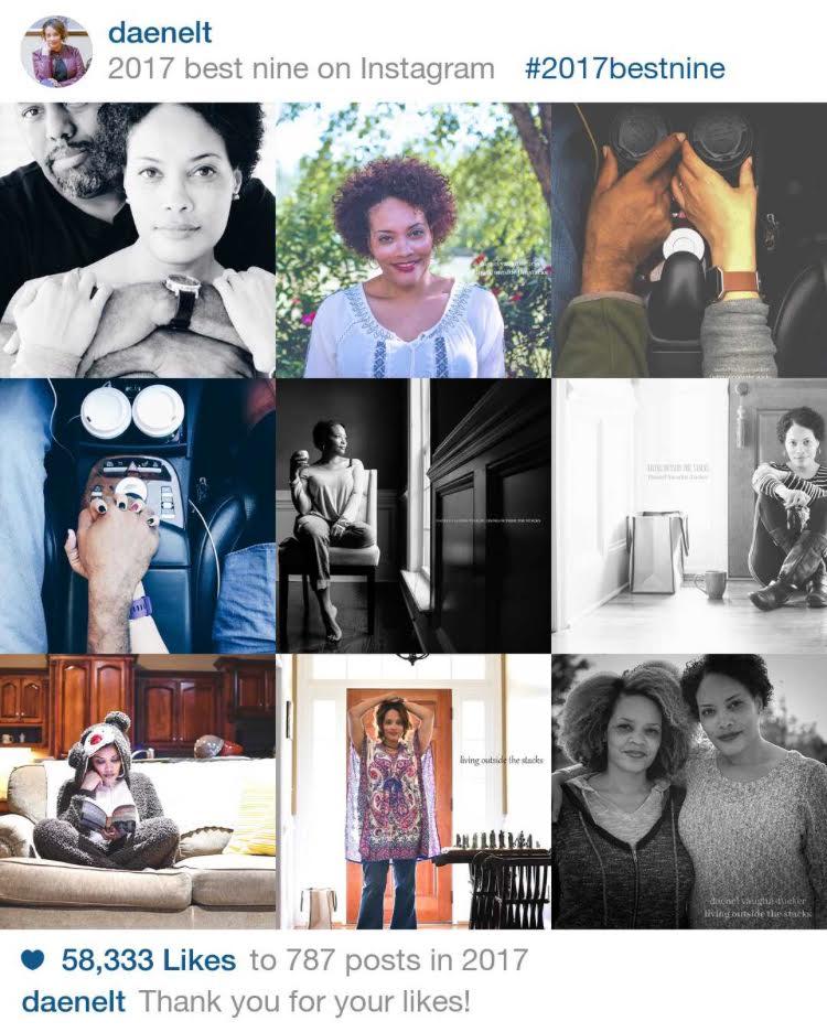 Best Nine of 2017 {@daenelt on Instagram or follow my blog at livingoutsidethestacks.com}