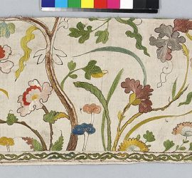18th Century Spanish Textile from the Metropolitan Museum of Art Open Access Collection