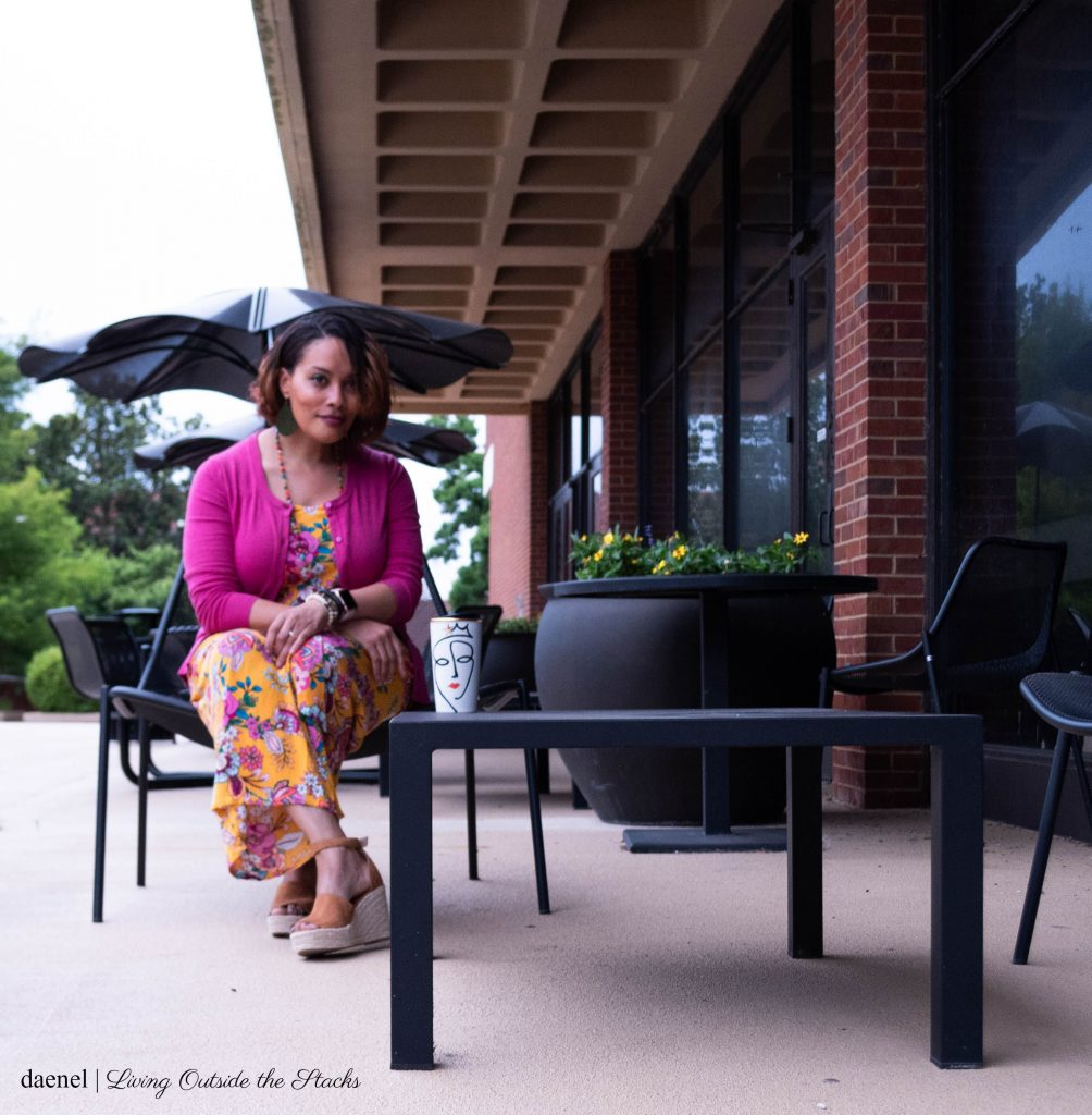 Daenel Outside the Library {living outside the stacks}