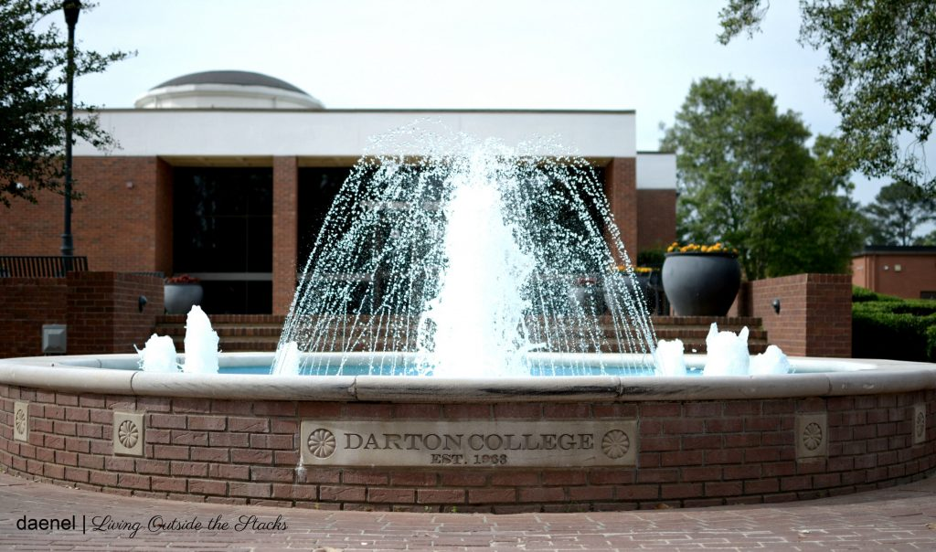 Darton College Water Fountain {living outside the stacks}