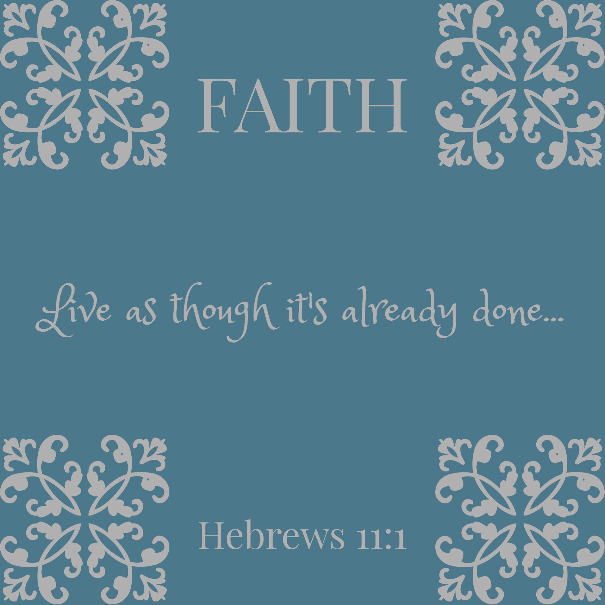 Faith {living outside the stacks}