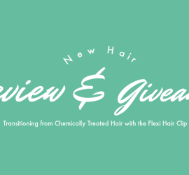 Flexi Hair Clip Review and Giveaway {living outside the stacks}