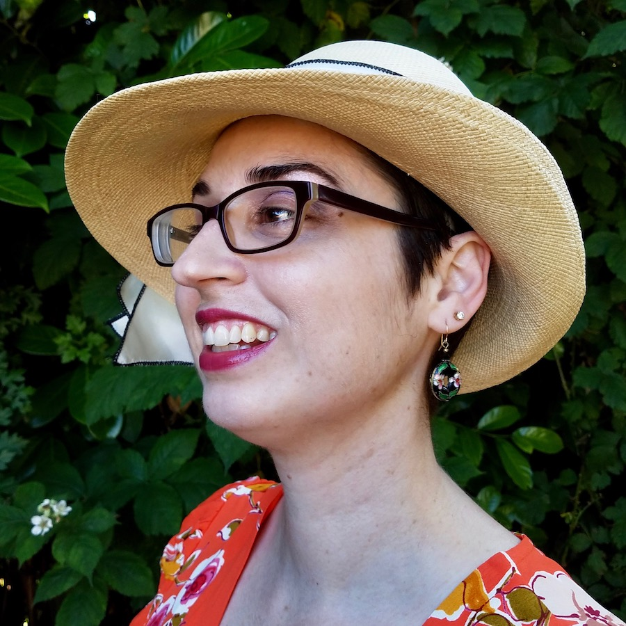 Jen Style Imitating Art Hat {Librarian for Life and Style}