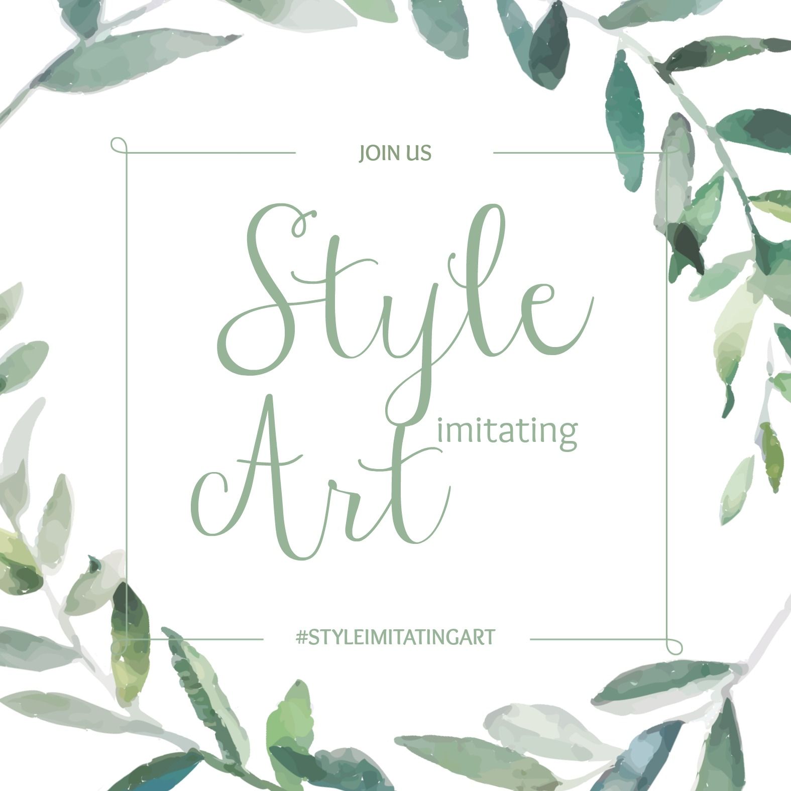 Join Us for Style Imitating Art {living outside the stacks}