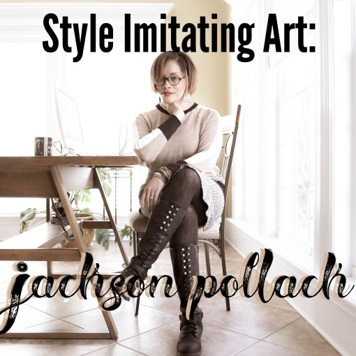 Style Imitating Art Inspiration {living outside the stacks}