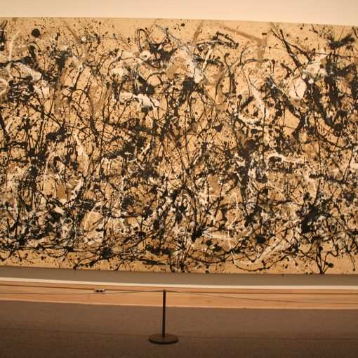 Style Imitating Art Inspiration {Autumn Rhythm (Number 30) by Jackson Pollock} Photo Credit Tim Pendemon on flickr