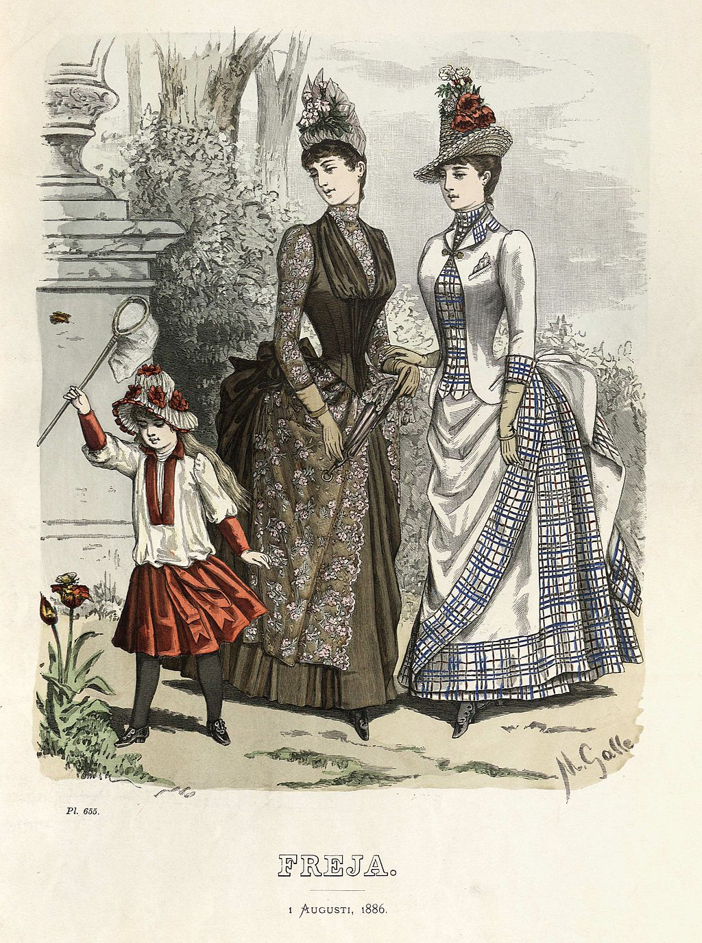 Freja Fashion Plate
