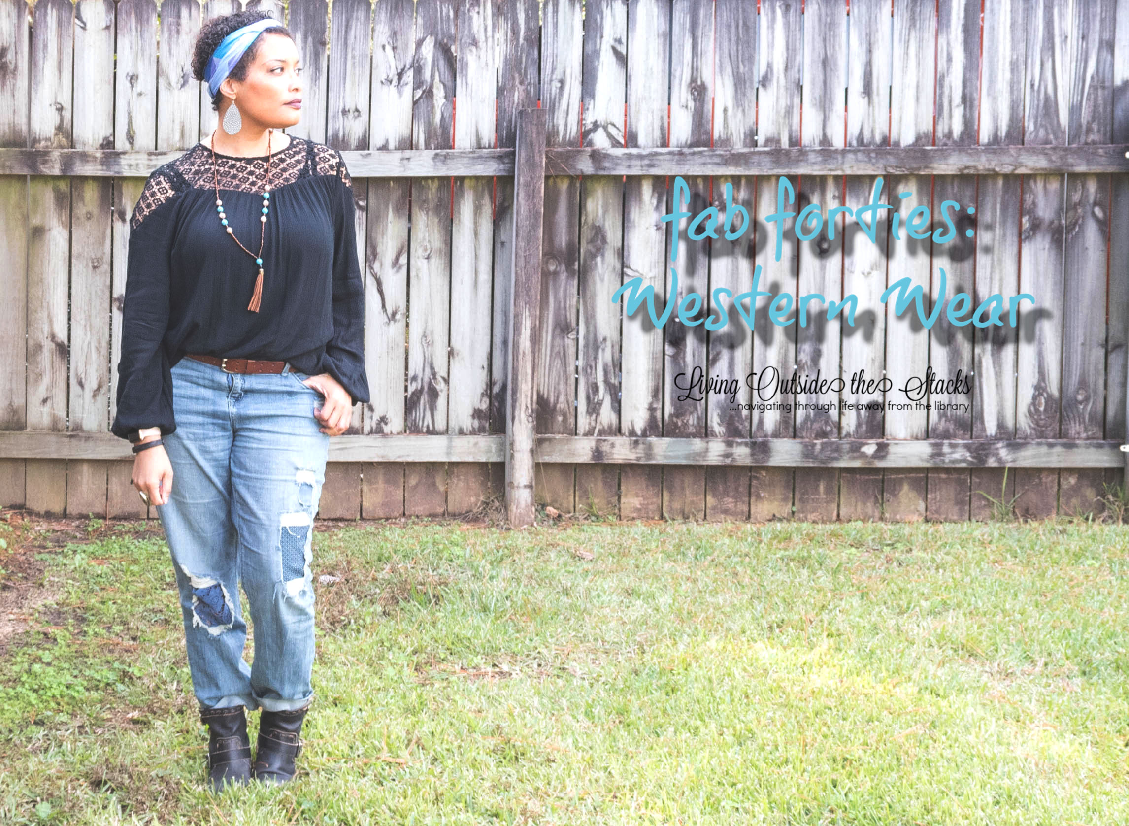 Fab Forties {living outside the stacks} Western Wear