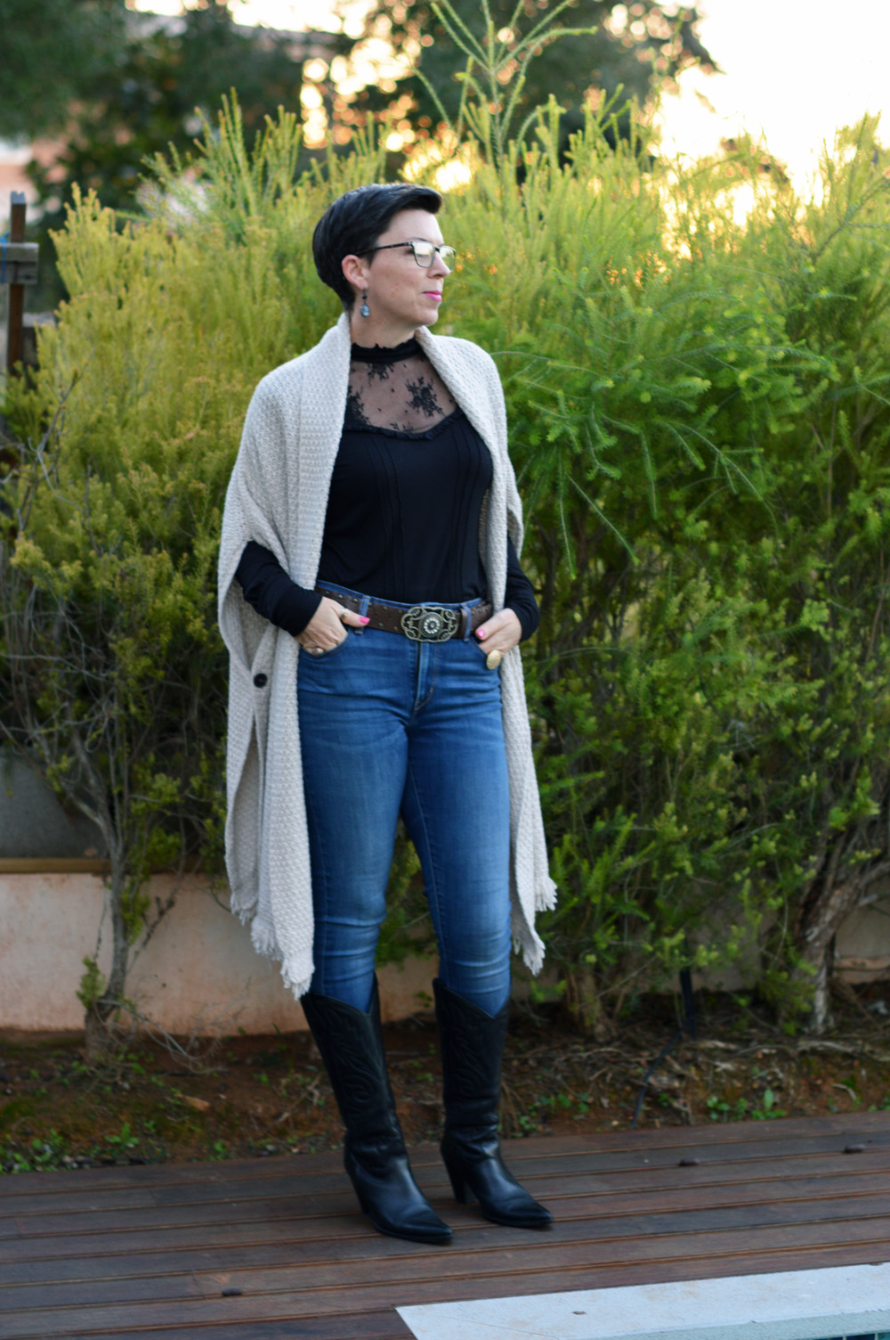 Fab Forties {Pixie Chick in a Ponytail} Western Wear 1