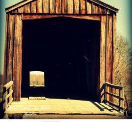 Bollinger Mill Covered Bridge by Daenel Vaughn-Tucker