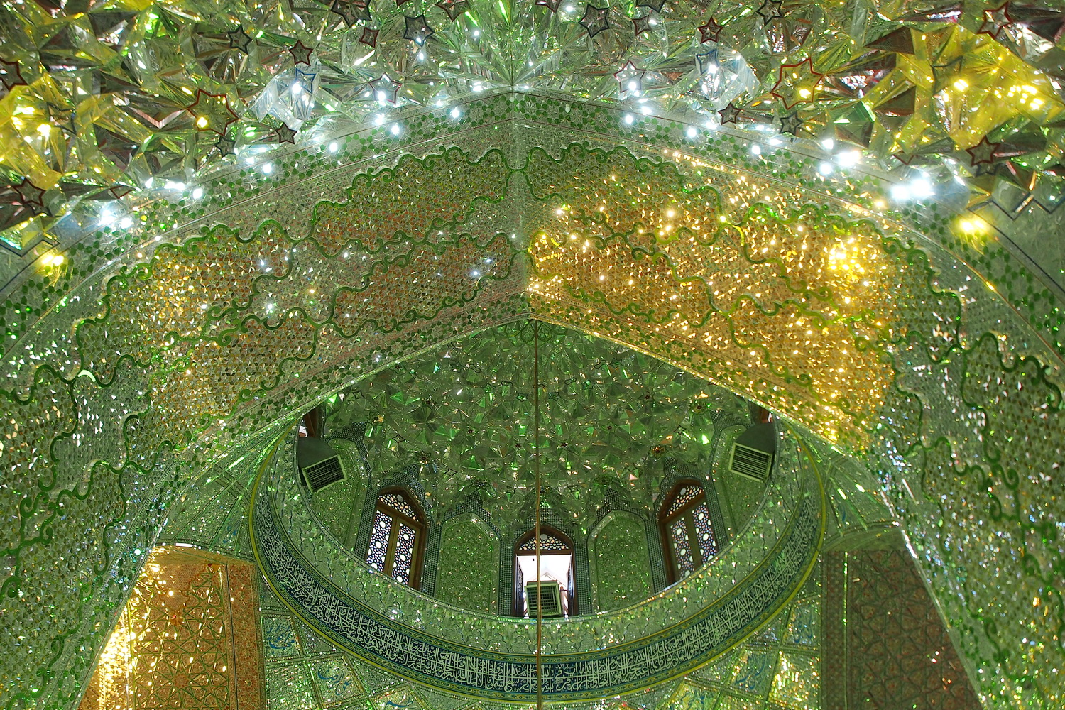 Ali Ibn Hamzeh Shrine in Shiraz Iran by Salazar #StyleImitatingArt