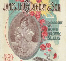 James JH Gregory and Son Seed Catalogue
