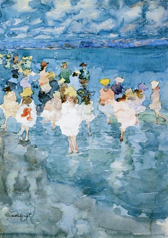 Maurice Predergast_Children at the Beach