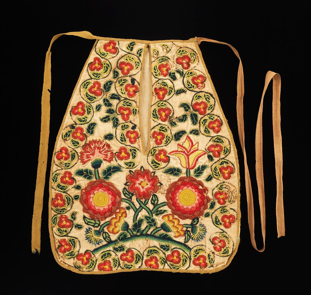 Pocket, ca. 1784 {The Met Open Access Collection}