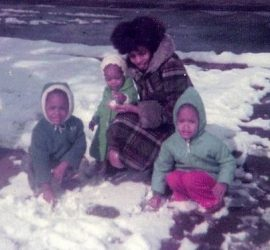 Mom my sisters and me {living outside the stacks}