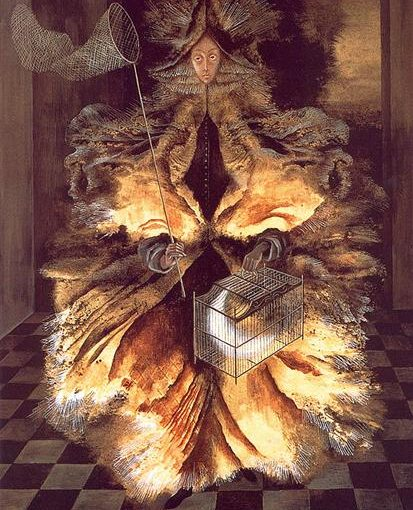 The Star Catcher by Spanish artist Remedios Varo