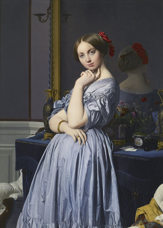 Portrait of Comtesse d'Haussonville