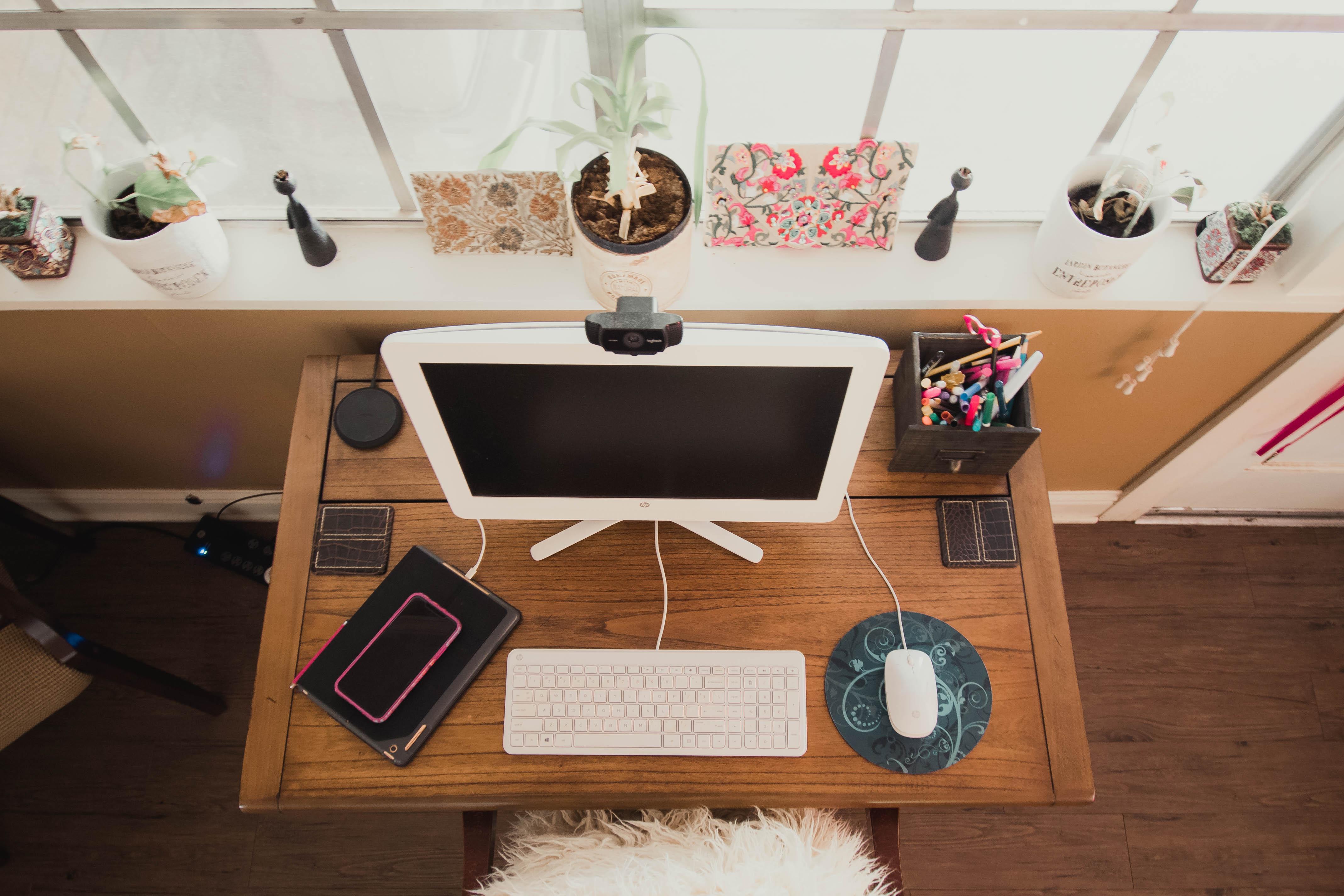 Desk {living outside the stacks}