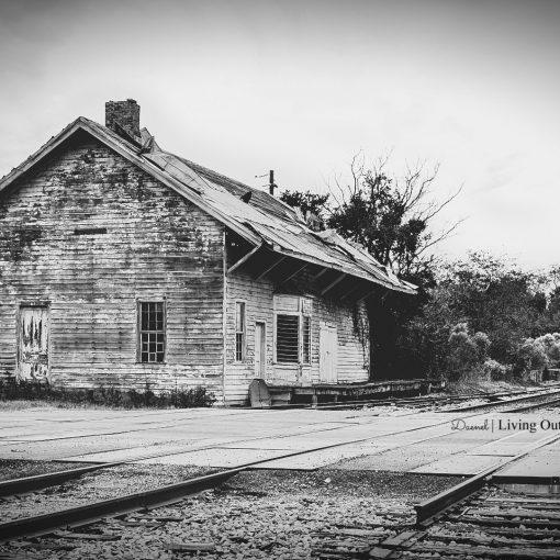 Railroad Station Georgia Edited {living outside the stacks}