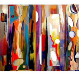 Tapestry by Sam Gilliam