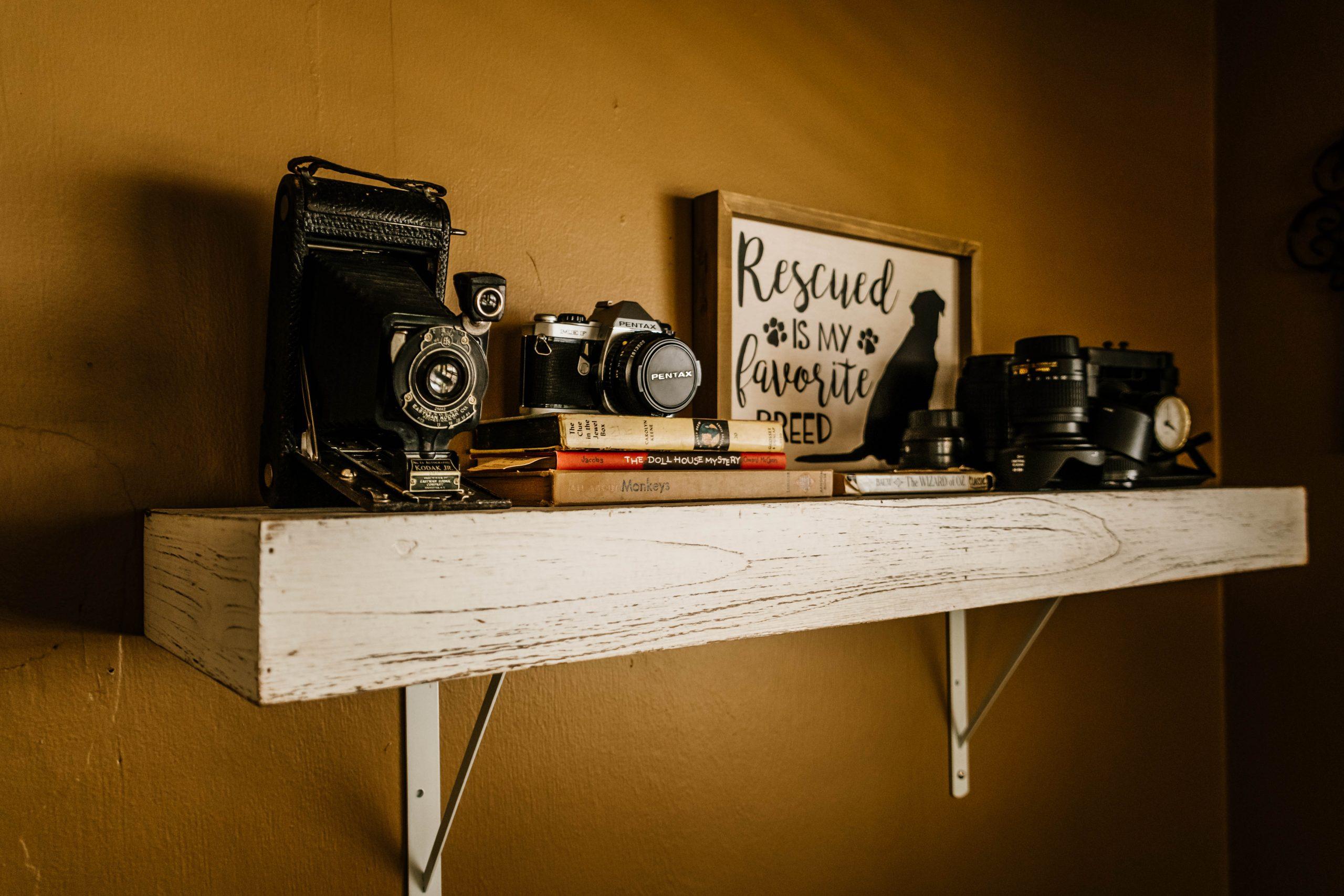 Shelf of Things {living outside the stacks}