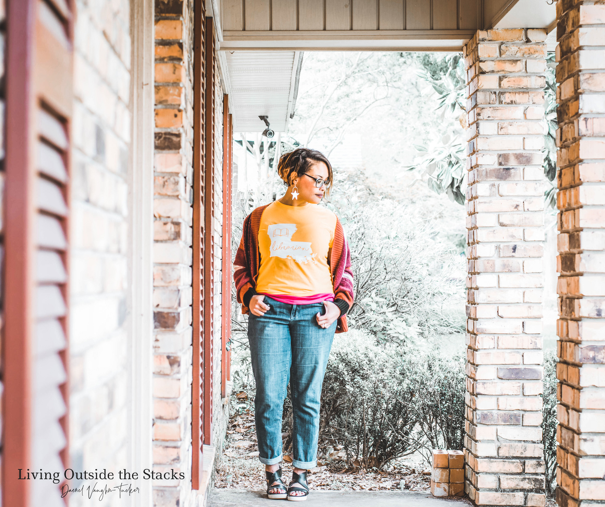 Daenel T {living outside the stacks} 2_30 #OnMyFrontPorch