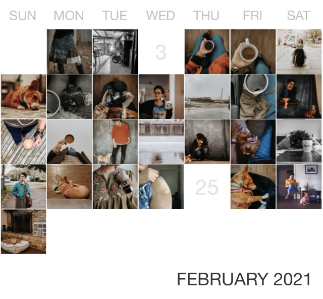 February 2021 {living outside the stacks} Follow me on Instagram @DaenelT