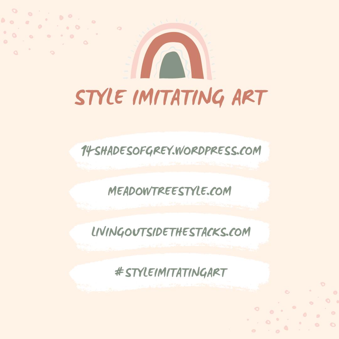 Style Imitating Art follow me on Instagram @DaenelT {living outside the stacks}